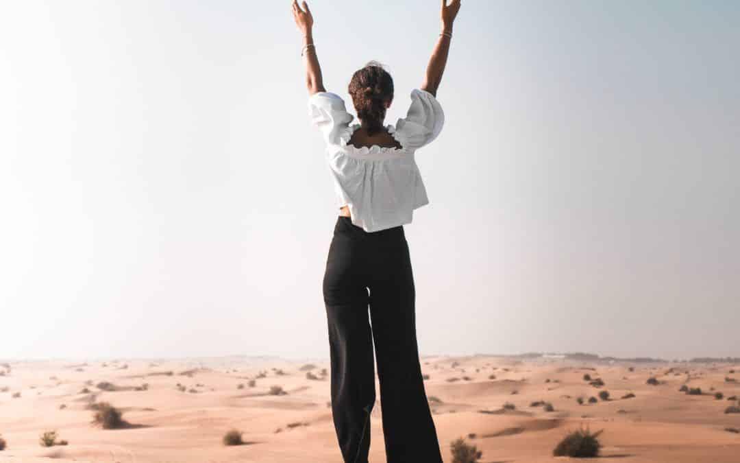 Afvallen is een woestijn creëren om oases te creëren